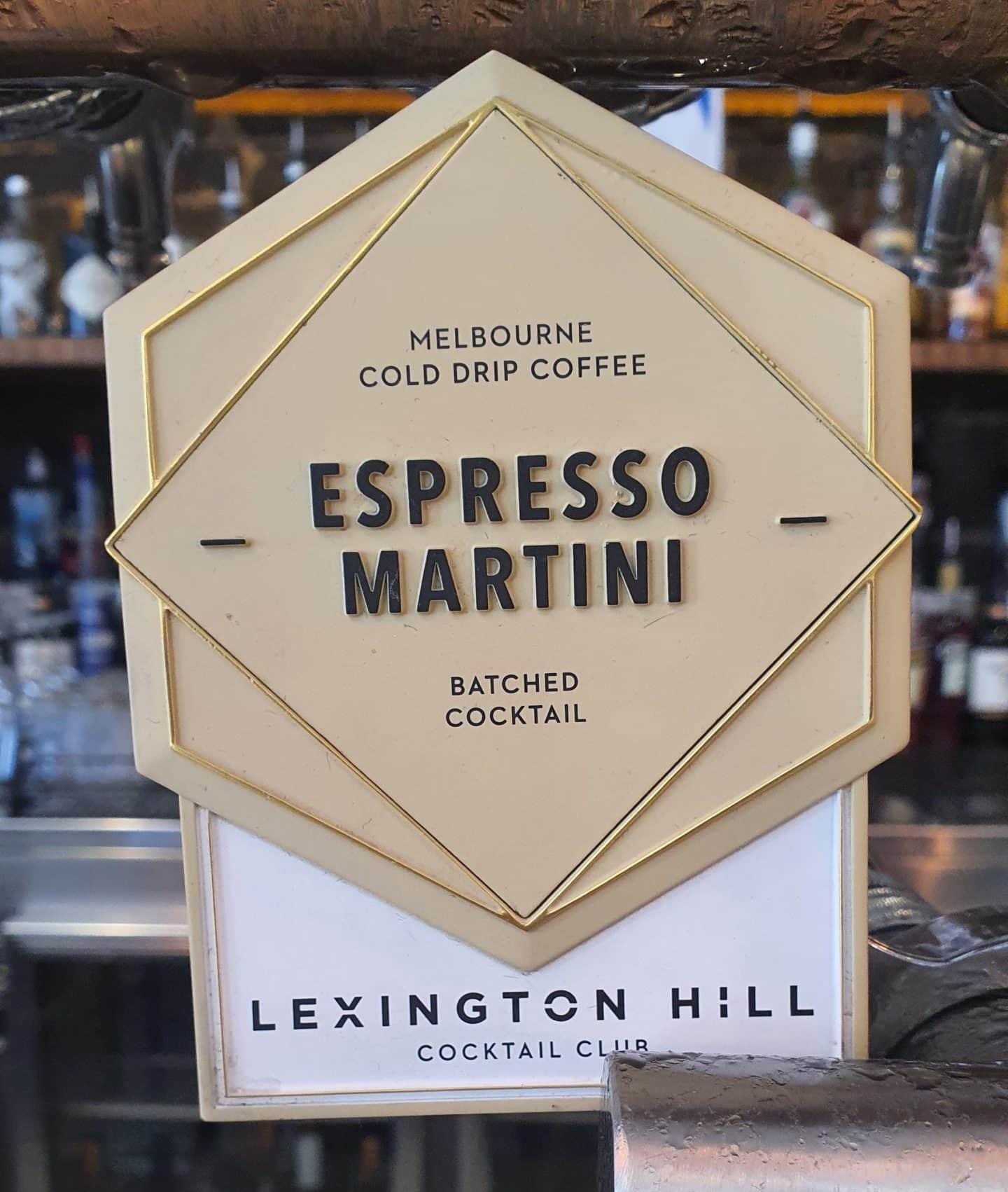 Lexington Hill Espresso Martini