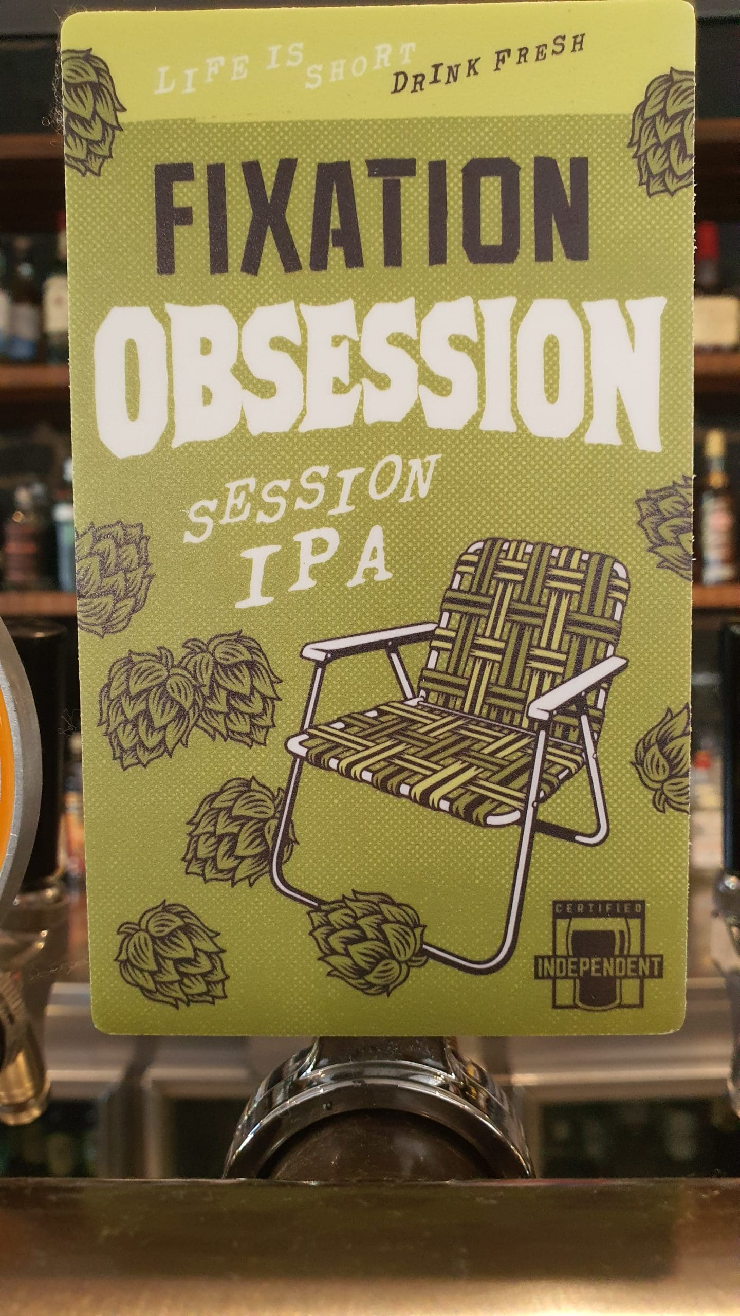 Fixation Obsession Session IPA